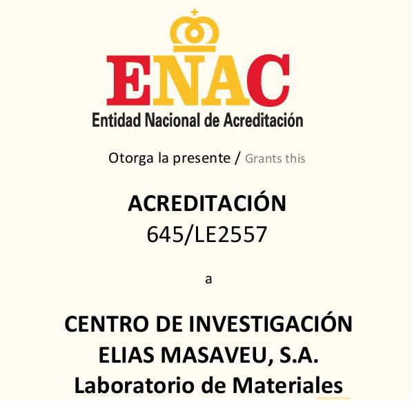 Acreditación Centrode investigación Elías Masaveu